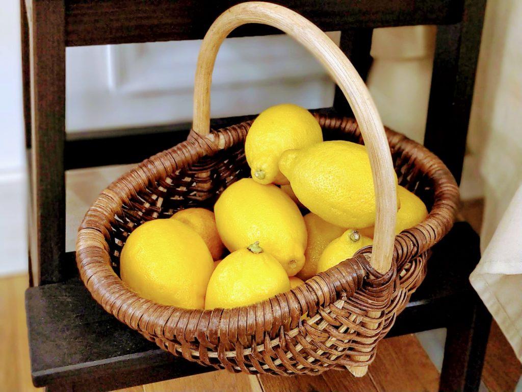 沢山の檸檬