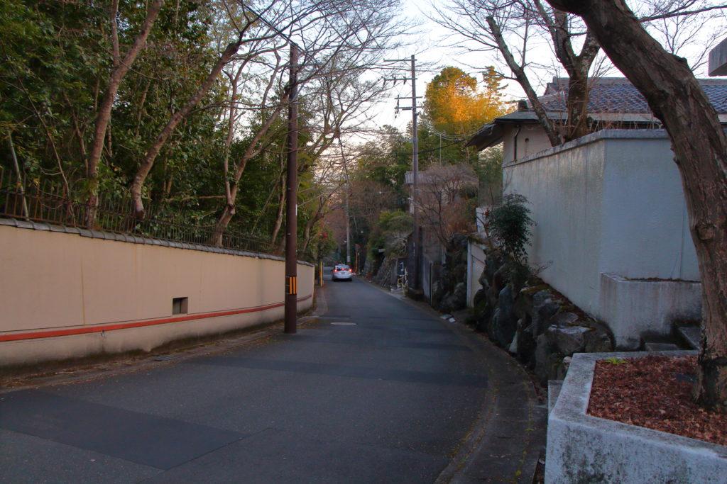 太閤山荘への行きかた